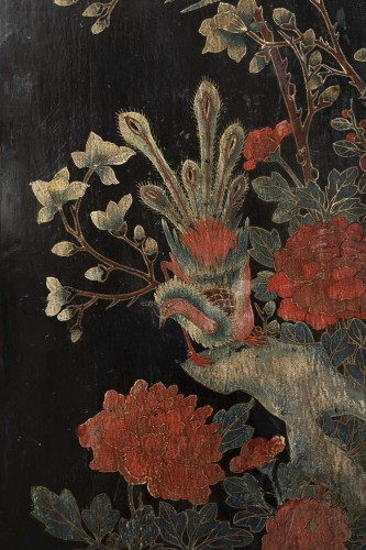 Antiquités - A set of four Lacquer Panels China