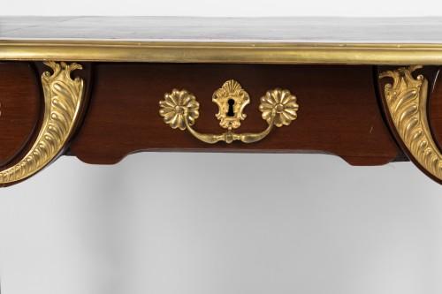 A Regence ormolu-mounted Amaranth Bureau Plat -