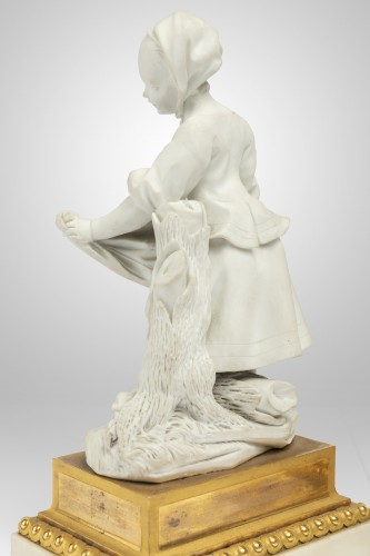 "Porcelain & Faience  - A pair of Sèvres Porcelain "" Biscuits "" Eighteen century"