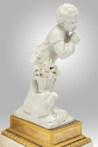 "A pair of Sèvres Porcelain "" Biscuits "" Eighteen century - Louis XVI"