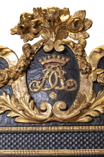 An French ebonised Louis XIV Mirror - Louis XIV