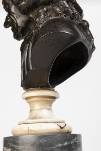 Pair of bronze busts stamped Pierre-Philippe THOMIRE 1790 -