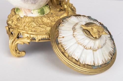 Pot-Pourri ,porcelaine et bronze , XVIIIème Siècle . - Louis XVI