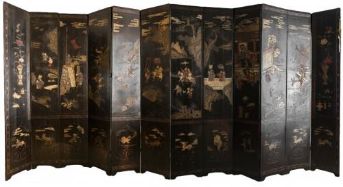 Coromandel Screen Eighteen Century