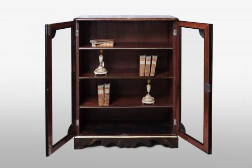 Rosewood Regence Book-Case - Furniture Style French Regence