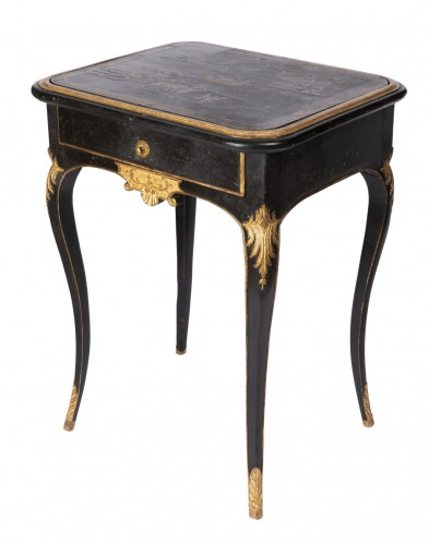 "Gilted wood table ""à jeux "" Louis XV"