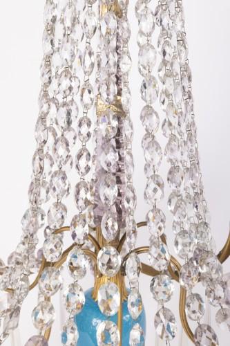 Antiquités - A pair of Swedish ormolu-mounted candelabra late 18th century