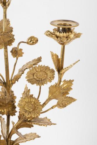 A pair of Louis XVI ormolu-mounted Atheniennes Candelabra - Louis XVI