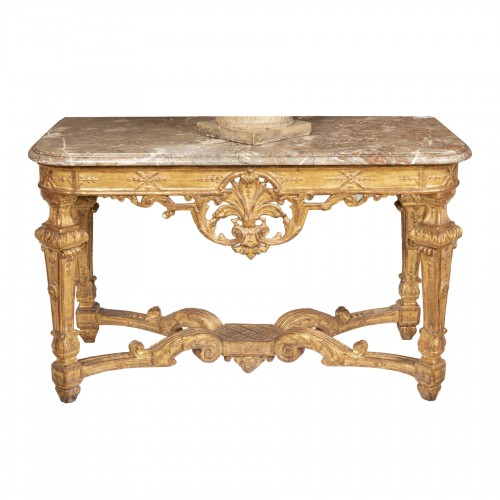 A Louis XIV Giltwood Console-Table late XVII° century