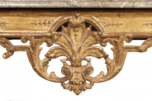 A Louis XIV Giltwood Console-Table late XVII° century - Furniture Style Louis XIV