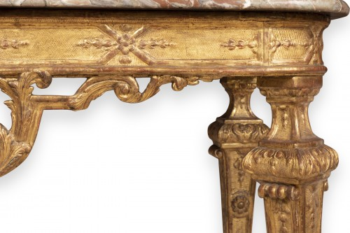 A Louis XIV Giltwood Console-Table late XVII° century -