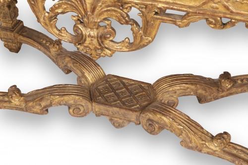 Louis XIV - A Louis XIV Giltwood Console-Table late XVII° century
