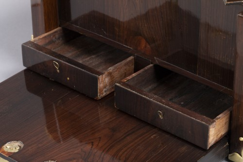 17th century - A Louis XIV gilt bronze mounted Rosewood casket