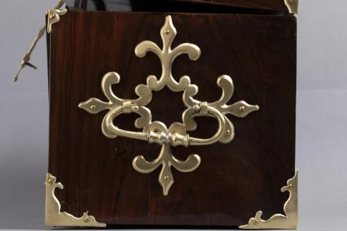 Antiquités - A Louis XIV gilt bronze mounted Rosewood casket