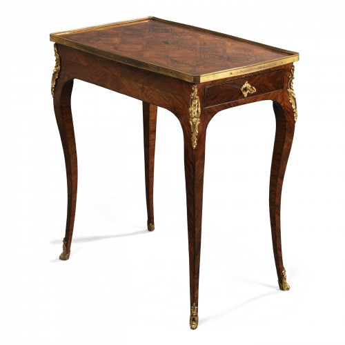 A Louis XV kingwood- veneered  Writing  Table by Pierre Migeon II