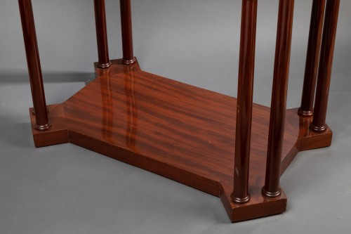 Furniture  - An Empire Mahogany Table attributed to Jacob-Desmalter