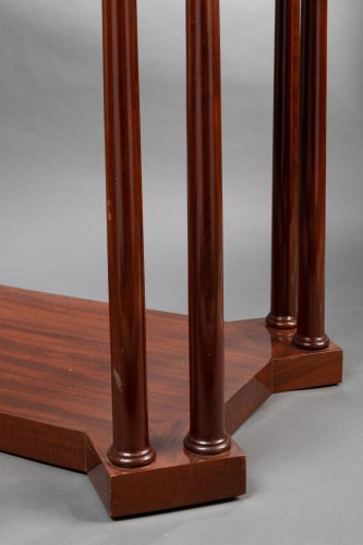An Empire Mahogany Table attributed to Jacob-Desmalter -