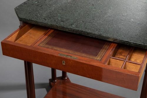Empire - An Empire Mahogany Table attributed to Jacob-Desmalter