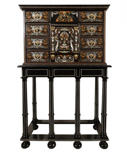 Louis XIV period cabinet attributed to Pierre Gole