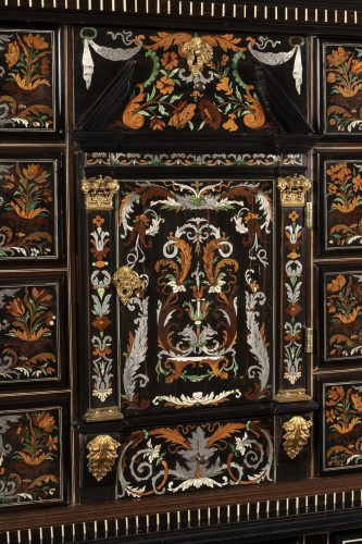 Louis XIV period cabinet attributed to Pierre Gole -