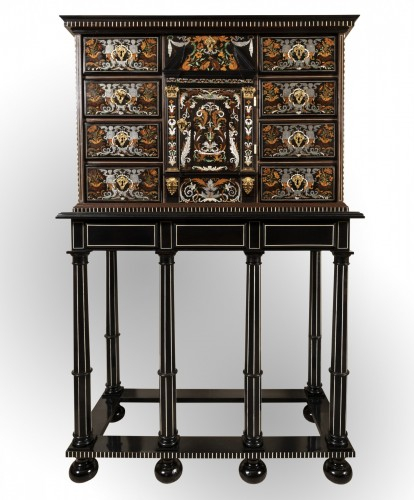 Louis XIV period cabinet attributed to Pierre Gole - Louis XIV
