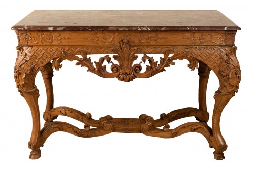 Console en table d'époque Régence