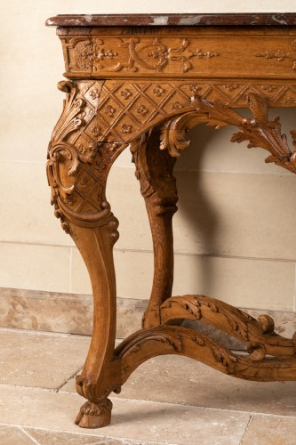 Frennch Regence period table console - Furniture Style French Regence