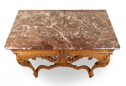 Antiquités - Frennch Regence period table console