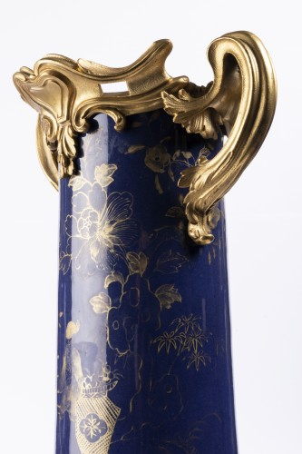 Grand vase Chine XVIIIe siècle - Isabelle Chalvignac