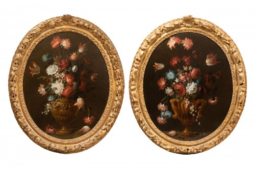 A pair of Italian Pictures late 17 th Century