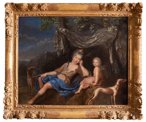 Oil on canvas  ,1705 , workshop of Pierre Gobert (1662 - 1744 )