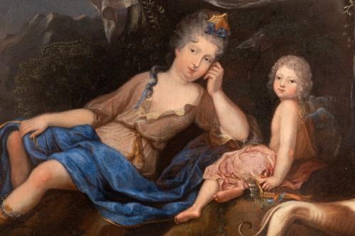 18th century - Oil on canvas  ,1705 , workshop of Pierre Gobert (1662 - 1744 )