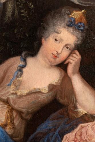 Oil on canvas  ,1705 , workshop of Pierre Gobert (1662 - 1744 ) - Louis XIV