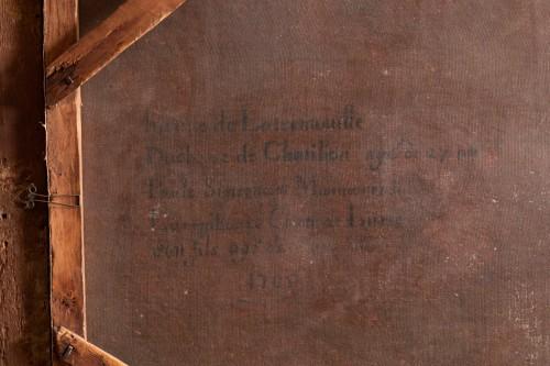 Antiquités - Oil on canvas  ,1705 , workshop of Pierre Gobert (1662 - 1744 )