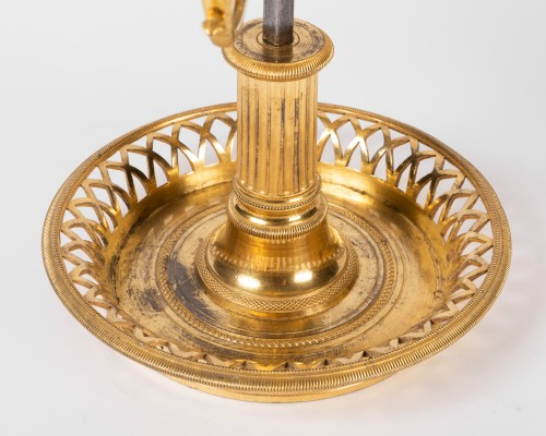 18th century - A Louis XVI Ormolu three lights Bouillotte Lamp