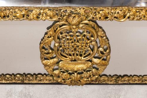 Mirror Flanders XVIIth Century  - Mirrors, Trumeau Style Louis XIV