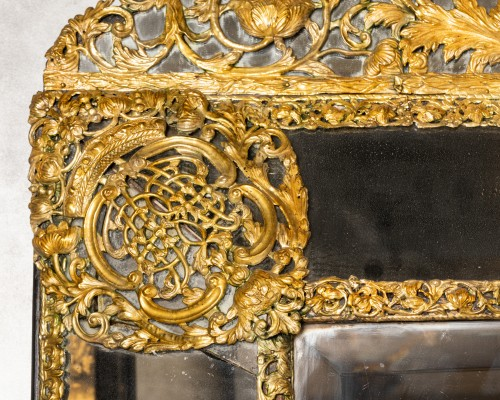 Antiquités - Mirror Flanders XVIIth Century