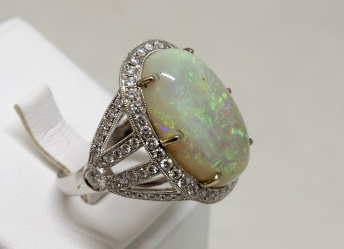 Antique Jewellery  - Opal ring