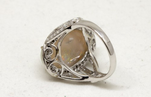 Opal ring -