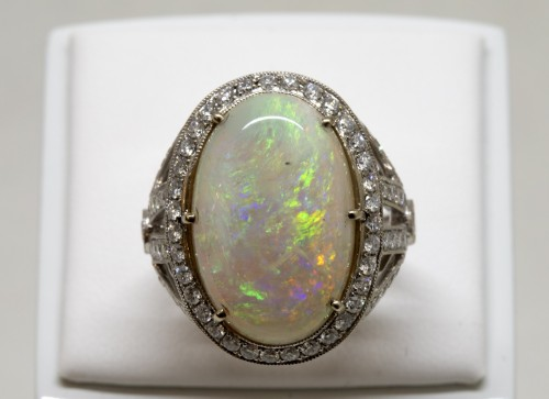 20th century - Opal ring