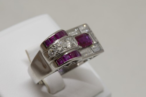 Antique Jewellery  - Ruby Ring circa 1930