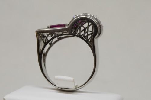 Ruby Ring circa 1930 -