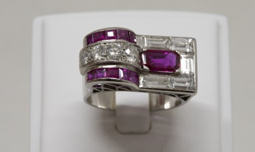 20th century - Ruby Ring circa 1930