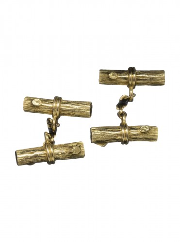 Boucheron - 18K gold cufflinks
