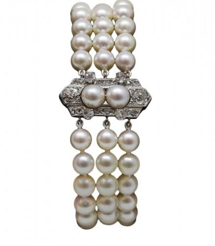 """Akoya"" pearl bracelet"