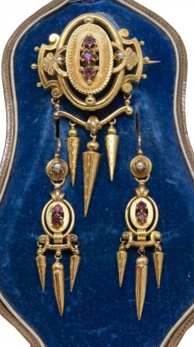 Napoleon III parure set