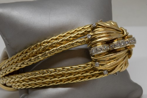 Mellerio Paris - Gold Bracelet - Antique Jewellery Style 50