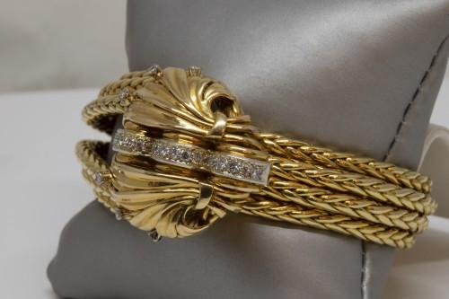 Antique Jewellery  - Mellerio Paris - Gold Bracelet