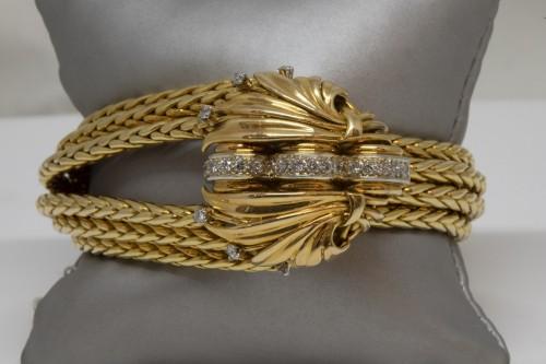 20th century - Mellerio Paris - Gold Bracelet