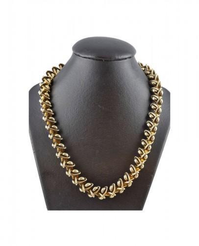 Hermès - Vermeil silver necklace
